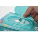 金装Q泉无香型婴儿柔护湿巾80+10片大包装(有盖)