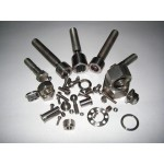 Titanium Fasteners/Ti Screw Bolt Hex Nuts Washers/ti parts