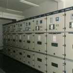 Armoured middle mounted metal enclosed switchgear