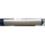 Tubular large flow filter