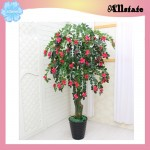 Artificial Money Flower Tree Decoration